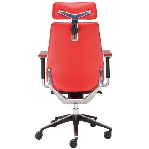 Vadovo kėdė NEXT_U HRUA R23P1 steel 29 su Epron Syncron Plus mechanizmu ir reguliuojamu sėdynės gyliu