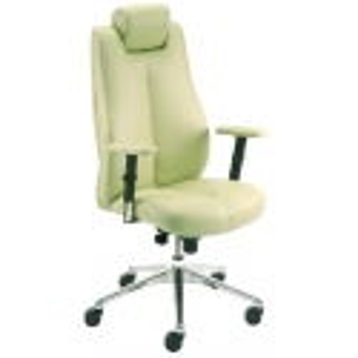 Vadovo kėdė SONATA lux HRU R15 steel 28 su Epron Syncron mechanizmu