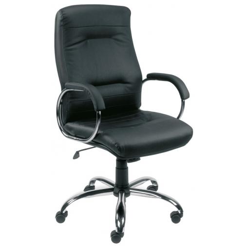 Vadovo kėdė FIKUS steel 02 su Tilt mechanizmu