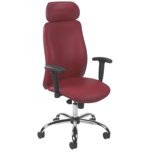 Vadovo kėdė INDIANA R HRU steel 03 su Epron Syncron mechanizmu