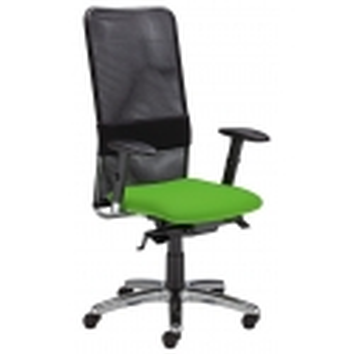 Biuro kėdė MONTANA HB LU R15G steel 11 su Epron Syncron Plus ir sėdynės gylio reguliavimo mechanizmu