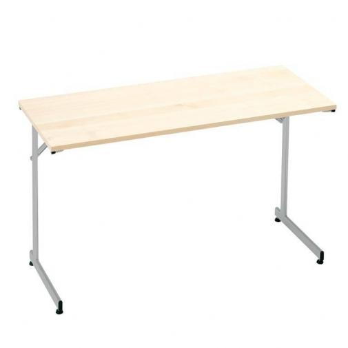 """""""Flexible"""" konferencijų stalas, sudedamas, L1200xW600, pilka/beržo laminatas"""