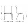 Kėdė FEN 4L-ARM