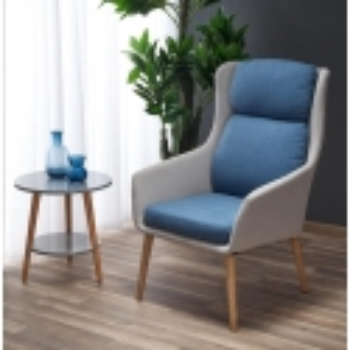 Fotelis (mėlynas)