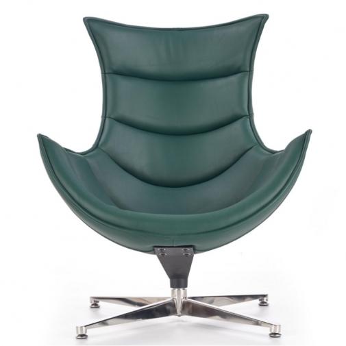 Krėslas (žalios spalvos)