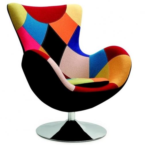 Krėslas (spalvotas)