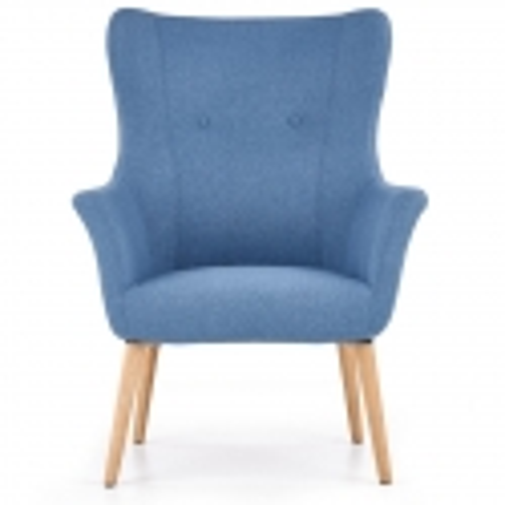 Mėlynas fotelis