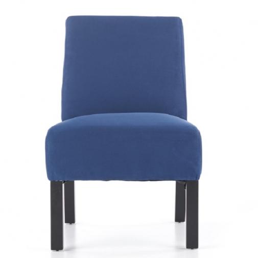 Mėlynos spalvos fotelis