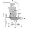 ergonomiška biuro kėdė