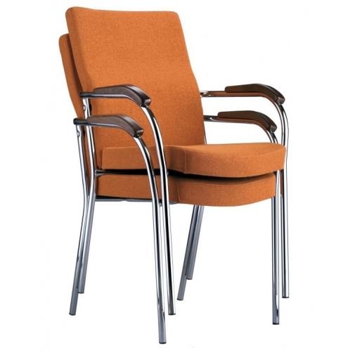 Lankytojų kėdė LOCO II chrome