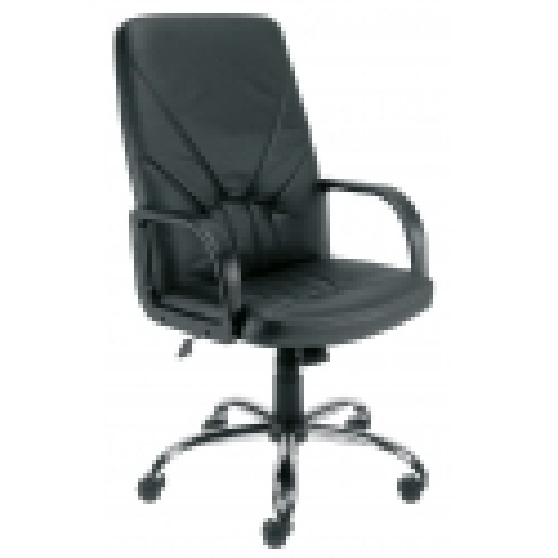 Vadovo kėdė MANAGER steel 02 KD su Tilt mechanizmu