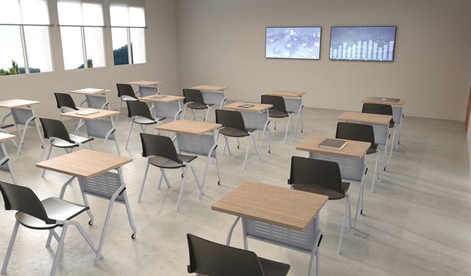 vienvietis konferencinis stalas