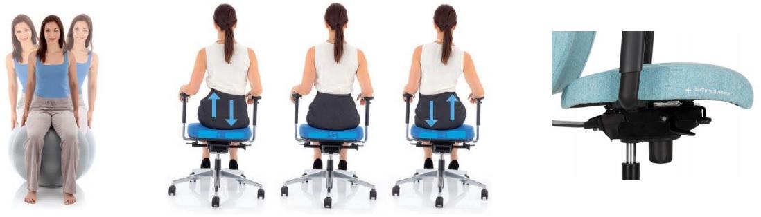 ergonomiška kėdės sėdynė