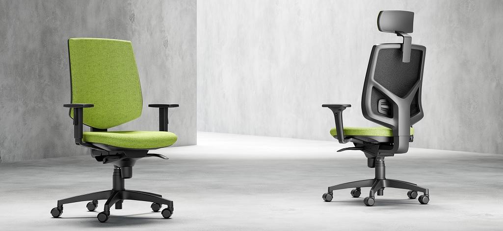 ergonominės biuro kėdės