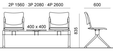 medinio lankytojų suolo matmenys