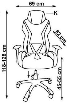 kėdė stig