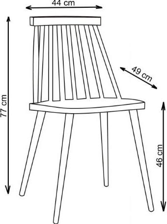 kėdės matmenys
