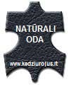 natūralios odos krėslas