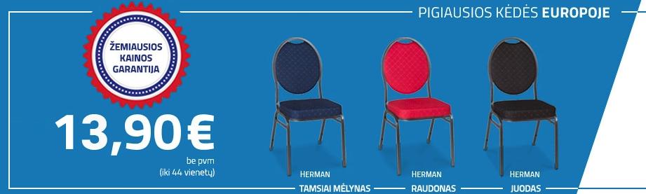pigios banketines kėdės