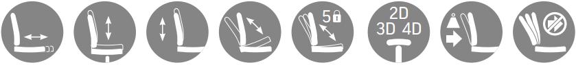Biuro kėdės mechanizmai