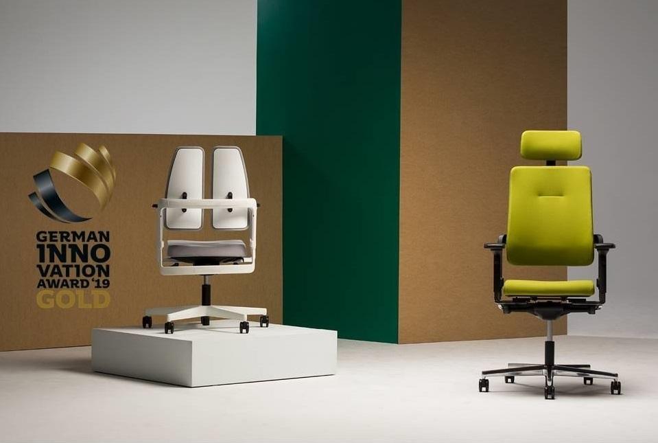 vokiškos biuro kėdės