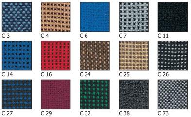 kėdžių spalvos