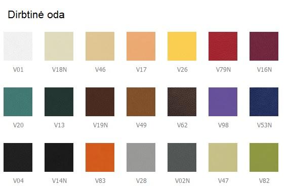 kėdės spalvos